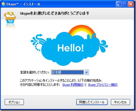 Skype™ - インストール 20100525 223313