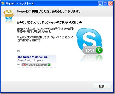 Skype™ - インストール 20100525 223607